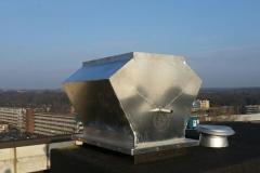 afdichtingsconstructie op dak